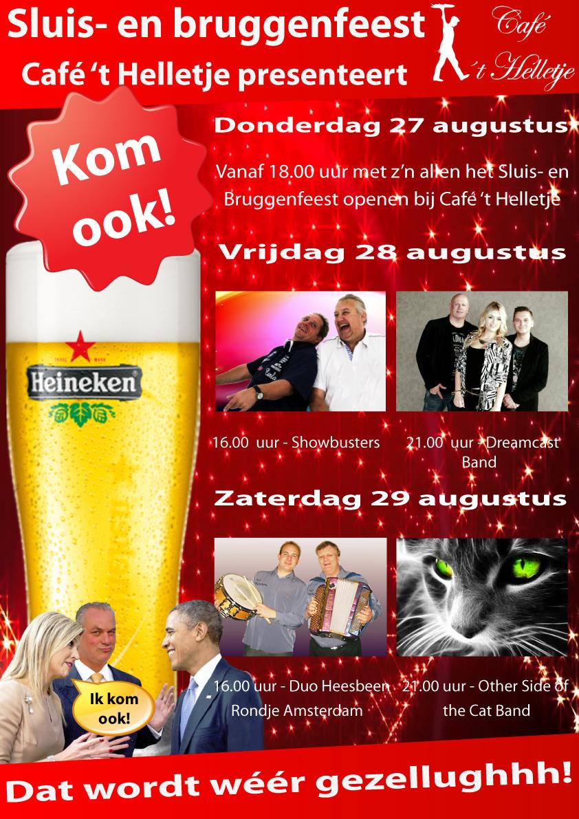 Poster Sluis en Bruggenfeest 2015 kl
